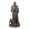 Brighton St. Francis Deer Statue - Astoria Grand Garden Statues and Outdoor Accents