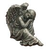 Philippa Dreamy Angel Statue - One Allium Way Garden Statues and Outdoor Accents