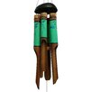 Shayne Dragonfly Simple Dots Bamboo Wind Chime - Bloomsbury Market Garden Statues and Outdoor Accents