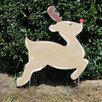 Rudolph Yard Garden Art - Southern Steel Designs Garden Statues and Outdoor Accents