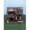 Hunting Lodge 10 inch x 7 inch x 6 inch Birdhouse - Land and Sea Birdhouses