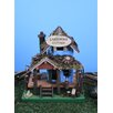 Lakefront Cottage 10 inch x 7 inch x 6 inch Birdhouse - Land and Sea Birdhouses