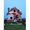 Our Summer 10 inch x 7 inch x 6 inch Birdhouse - Land and Sea Birdhouses