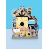 Home Sweet Home 10 inch x 7 inch x 6 inch Birdhouse - Land and Sea Birdhouses