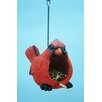 Cardinal 7 inch x 7 inch x 6 inch Birdhouse - Land and Sea Birdhouses