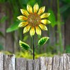 Dipietro Shimmering Flower Garden Stake - August Grove Garden Statues and Outdoor Accents