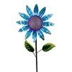 Dressler Shimmering Flower Garden Stake - August Grove Garden Statues and Outdoor Accents