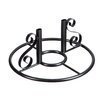 Carmagrim Patio Pedestal - Fleur De Lis Living Garden Statues and Outdoor Accents