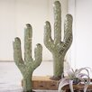 Pellston Recycled Metal Cactuses 2 Piece Garden Art Set - Bungalow Rose Garden Statues and Outdoor Accents