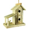 Wood 11 inch x 11 inch x 6 inch Birdhouse - Entrada Birdhouses