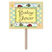 Foskey B Is For Baby Garden Sign (Set of 6) - The Holiday Aisle Garden Statues and Outdoor Accents