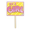 Freeborn It's A Girl Garden Sign - The Holiday Aisle Garden Statues and Outdoor Accents