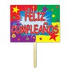 Gafford Feliz Cumpleanos Garden Sign (Set of 6) - The Holiday Aisle Garden Statues and Outdoor Accents