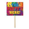Gagliano The Party's Here Garden Sign - The Holiday Aisle Garden Statues and Outdoor Accents