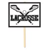 Mangrum Lacrosse Garden Sign - The Holiday Aisle Garden Statues and Outdoor Accents