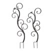 2-Piece Contemporary Metal Butterfly Trellis Set - Cole & Grey Trellises