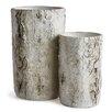 Dalkeith 2-Piece Concrete Pot Planter Set - Foundry Select Planters