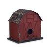 Barn 8 inch High x 7 inch Wide x 8 inch Deep Birdhouse - Melrose Intl. Birdhouses