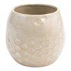 Priester Honeycomb Ceramic Pot Planter - Hallmark Home & Gifts Planters