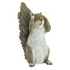 Henfield See No Evil Squirrel Statue - August Grove Garden Statues and Outdoor Accents