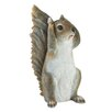 Hengrove Hear No Evil Squirrel Statue - August Grove Garden Statues and Outdoor Accents