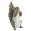 Henegar Speak No Evil Squirrel Statue - August Grove Garden Statues and Outdoor Accents