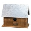 Metal Roof 10 inch x 12 inch x 7 inch Birdhouse - CWI Gifts Birdhouses