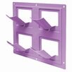 Bloomers Plastic Wall Planter - Color: Orchid Purple - EMSCO Group Planters