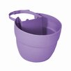 Bloomers Plastic Railing Planter - Color: Orchid Purple - EMSCO Group Planters