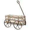 Willaims Wagon Garden Art - Gracie Oaks Garden Statues and Outdoor Accents