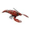 Zellers Reclaimed Metal Lobster Statue - Breakwater Bay Garden Statues and Outdoor Accents