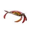 Zeledon Reclaimed Metal Crab Statue - Breakwater Bay Garden Statues and Outdoor Accents
