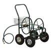 Yard Garden Landscape Steel Hose Reel Cart - Glitzhome Hose Reels