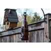 Decorative Bird Feeder - Color: Amber/Silver - Bottles Uncorked Bird Feeders