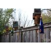 Decorative Bird Feeder - Color: Blue/Copper - Bottles Uncorked Bird Feeders