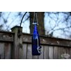 Decorative Bird Feeder - Color: Blue/Silver - Bottles Uncorked Bird Feeders