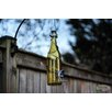 Decorative Bird Feeder - Color: Yellow/Silver - Bottles Uncorked Bird Feeders