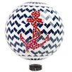 Yandell Mosaic Anchor Gazing Globe - Breakwater Bay Garden Statues and Outdoor Accents