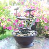 Lily Pad Fountain - Foreside Home & Garden Indoor and Outdoor Fountains