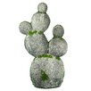 Endres Ceramic Cactus Decoration Statue - Bungalow Rose Garden Statues and Outdoor Accents