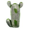 Endres Ceramic Cactus Statue - Bungalow Rose Garden Statues and Outdoor Accents