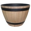 Keys Wine Barrel Resin Pot Planter - Union Rustic Planters