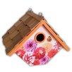 Hanging 6.5 inch In x 8 inch x In 6.5 inch In Wren House - Home Bazaar Birdhouses