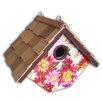 Hanging 6.5 inch In x 8 inch In x 6.5 inch In Wren House - Home Bazaar Birdhouses