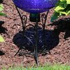 North Decorative Scroll Outdoor Gazing Globe Stand - World Menagerie Garden Statues and Outdoor Accents