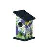Hydrangea Beautires 9 inch x 5 inch x 5 inch Wren House - Studio M Birdhouses