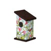 Songfilled Beauty 9 inch x 5 inch x 5 inch Wren House - Studio M Birdhouses