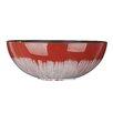 Ridley Shiny Finish Design Decorative Bowl Polyurethane Foam Pot Planter - Color: Red - World Menagerie Planters