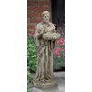 Dion St. Francis Statue - Astoria Grand Garden Statues and Outdoor Accents