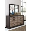 Signature Design by Ashley Harlinton 8 Drawer Dresser with Mirror